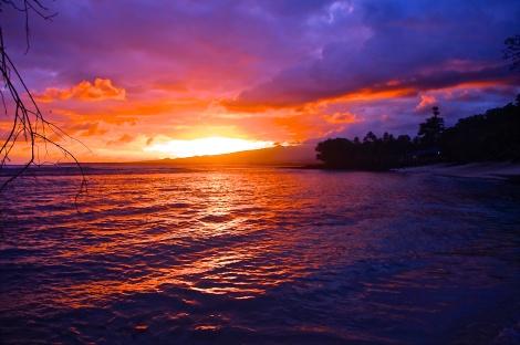 Samoa Sunset