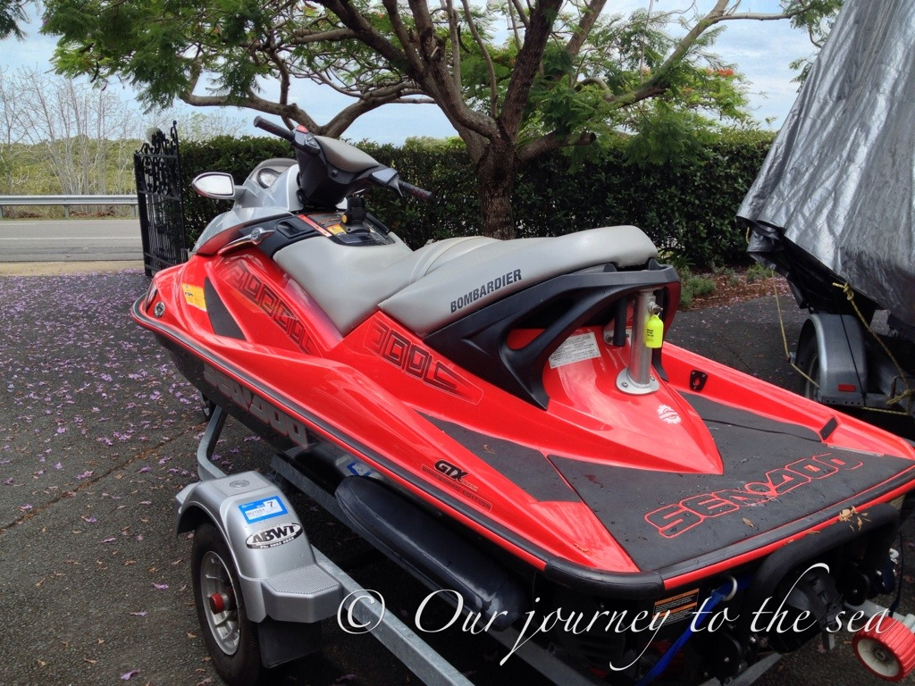 The day I realised jet skis CAN sink | Our journey to the sea