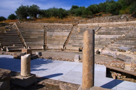 The smaller ancient theatre