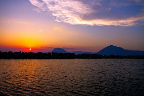 Patras sunset