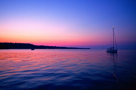 Sunrise at Kalomios