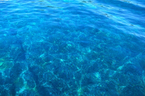 The beautiful water in Gaios