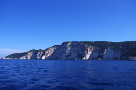 The Western side of Paxos